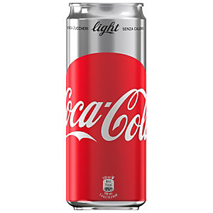 Coca-Cola Light Lattina da 33 cl. (confezione 24 lattine)