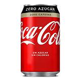 Coca-Cola Zero azúcar Zero cafeína Refresco, 330 ml