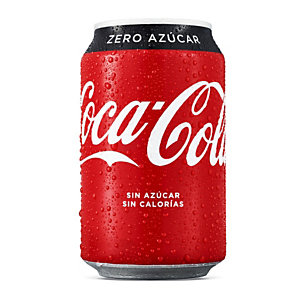 Coca-Cola Zero Refresco, 330 ml