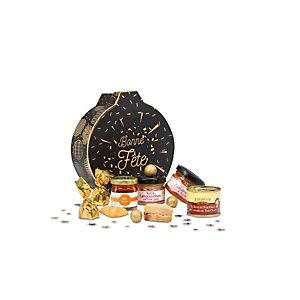 Coffret cadeau Essentiel - Panier gourmand prêt à offrir - 7 éléments