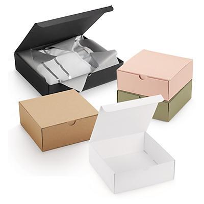 Coffret cadeau en micro-cannelure