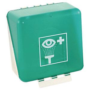 Coffret de rangement pour flacon lave œil