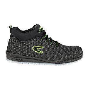 COFRA® Calzatura di sicurezza alla caviglia Youth S3 SRC, Tessuto Techshell, Nero, Taglia 42