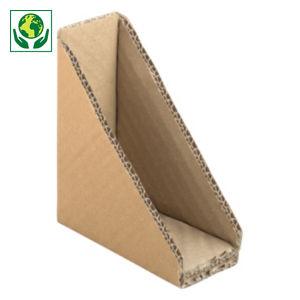 Coin carton triangulaire
