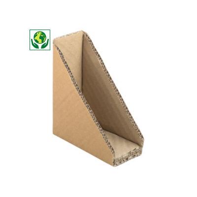 Coin triangulaire en carton##Driehoekbeschermer van karton