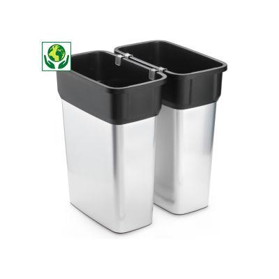 Collecteur plastique de tri VILEDA 55 litres