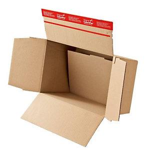 Colompac, Imballaggio e spedizione, Cf10scatole avana mm229x164x50-115, CP141.101