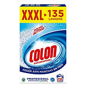 Colon Polvo Activo Detergente para lavadora adecuado