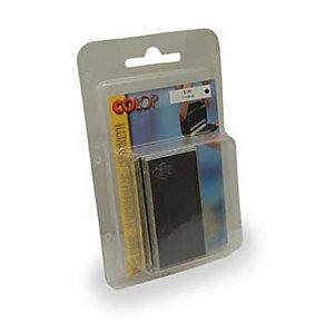 Colop Cuscinetti di ricambio per timbro cod. 31144 - Inchiostro nero (confezione 2 pezzi)