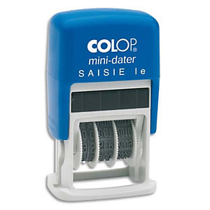 COLOP Dateur formule bicolore SAISI LE - Printer Mini S 160 L4 à encrage auto. Hauteur caractères 4mm