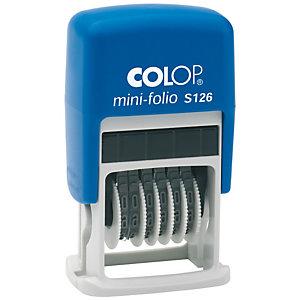 Colop mini-folio S 126 Numerador automático