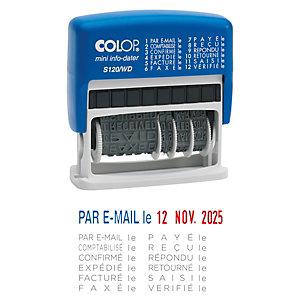 Colop Mini Tampon dateur Printer S 120/WD -  multi formules