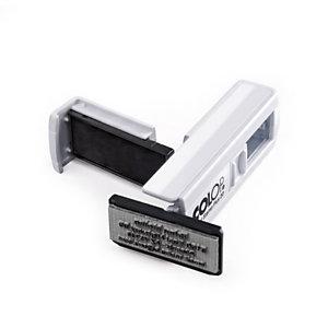 Colop Pocket Stamp Plus Timbro personalizzabile, 38 x 14 mm, Bianco