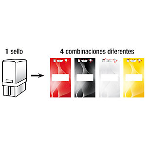 Colop Printer 20 G7 Sello personalizable con entintaje automático tinta roja