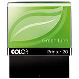 Colop Printer 20 Green Line Sello personalizable reciclado con entintaje automático tinta azul