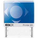Colop Printer 20 Microban® Sello personalizable con tratamiento antibacteriano y entintaje automático tinta roja