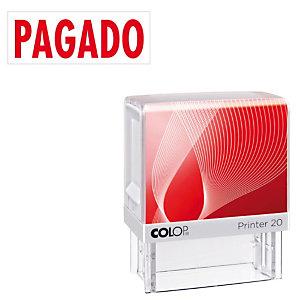 Colop Printer 20 Sello con entintaje automático Pagado