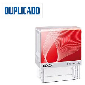 Colop Printer 20 Sello con entintaje automático Duplicado