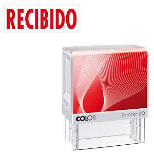 Colop Printer 20 Sello con entintaje automático Recibido