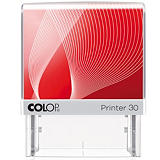 Colop Printer 30 G7 Sello personalizable con entintaje automático tinta azul