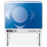 Colop Printer 30 Microban® Sello personalizable con tratamiento antibacteriano y entintaje automático tinta roja