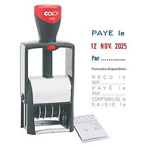 Colop Tampon dateur Classic Line 2160/RL - 3 formules