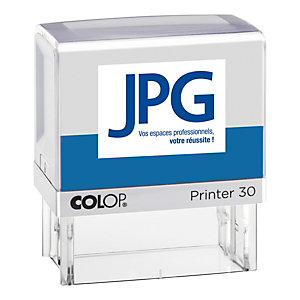 Colop Tampon encreur personnalisable Printer 30 - 5 lignes