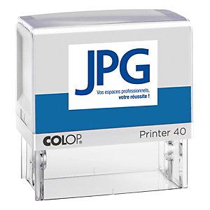 Colop Tampon encreur personnalisable Printer 40 - 6 lignes