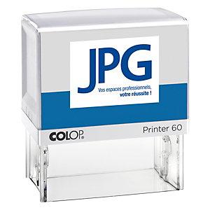 Colop Tampon encreur personnalisable Printer 60 - 8 lignes