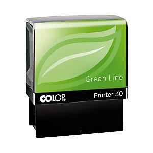 Colop Timbro ''Green Line'' autoinchiostrante personalizzabile - Printer 30 - N. righe 5 - Dimensioni cm 7,2 x 3,6 x 8,4