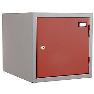 Combibbloc : Case individuelle gris / rouge