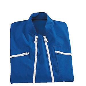 Combinaison de travail bleu Bugatti double fermeture, polycoton, taille XXXL