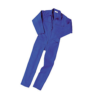 Combinaison de travail en polycoton bleu Bugatti, taille L