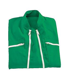 Combinaison de travail vert US double fermeture, polycoton, taille L