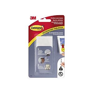Command™ Tiras para colgar cuadros, 4 x 2 tiras grandes, blanco, 7,2kg