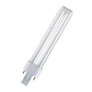 Compacte fluo lamp Dulux S 9W 840, Osram