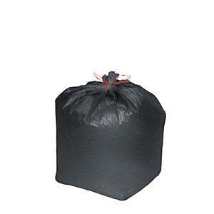 Confezione risparmio sacchi nettezza urbana - Colore nero - 25 litri - F.to cm 50 x 60 - Spessore 10 micron (confezione 1000 pezzi)