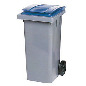 Container 2 wielen SULO voorgreep 140 L grijs/ blauw