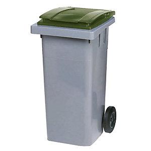 Container 2 wielen SULO voorgreep 140 L grijs/ groen