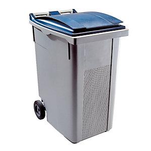 Container 2 wielen SULO voorgreep 360 L grijs/ blauw
