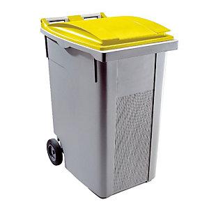 Container 2 wielen SULO voorgreep 360 L grijs/ geel