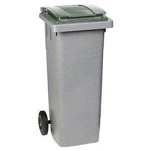Container 2 wielen SULO  voorgreep 80 L grijs/ groen