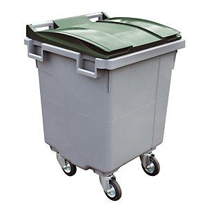 Container 4 wielen SULO voorgreep 400 L grijs/ groen