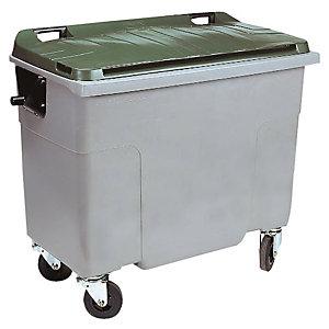 Container 4 wielen SULO voorgreep 500 L grijs/ groen