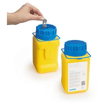 Container til brugte knivblade