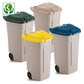 Conteneur à déchets 2 roues 100 L RUBBERMAID