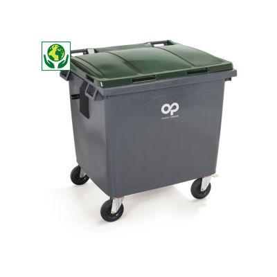 Conteneur à déchets couleur 4 roues 660 à 1000 litres SULO