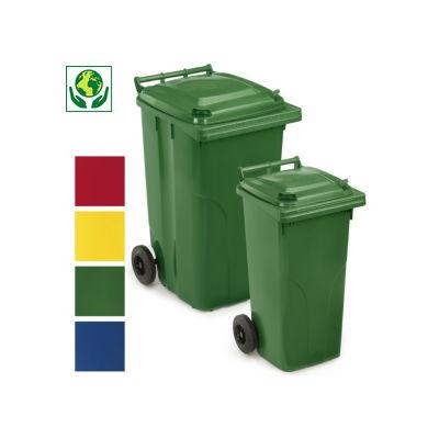 Conteneur poubelle 240 L et poubelle 120 L