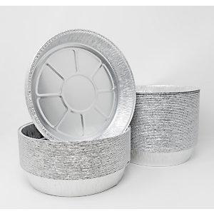 Contenitore in alluminio per alimenti, Formato C3G, Ø 22,8 x 3,9 cm (confezione 600 pezzi)