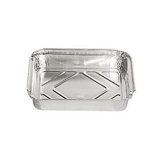 Contenitore in alluminio per alimenti, Formato R11, 22,5 x 17,5 x 4,3 cm (confezione 100 pezzi)